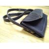 Клатч-кошелек со съемным ремнем на кнопках