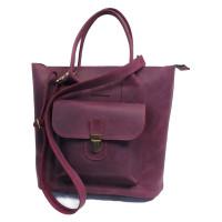 Стильная объемная сумка-пряжка