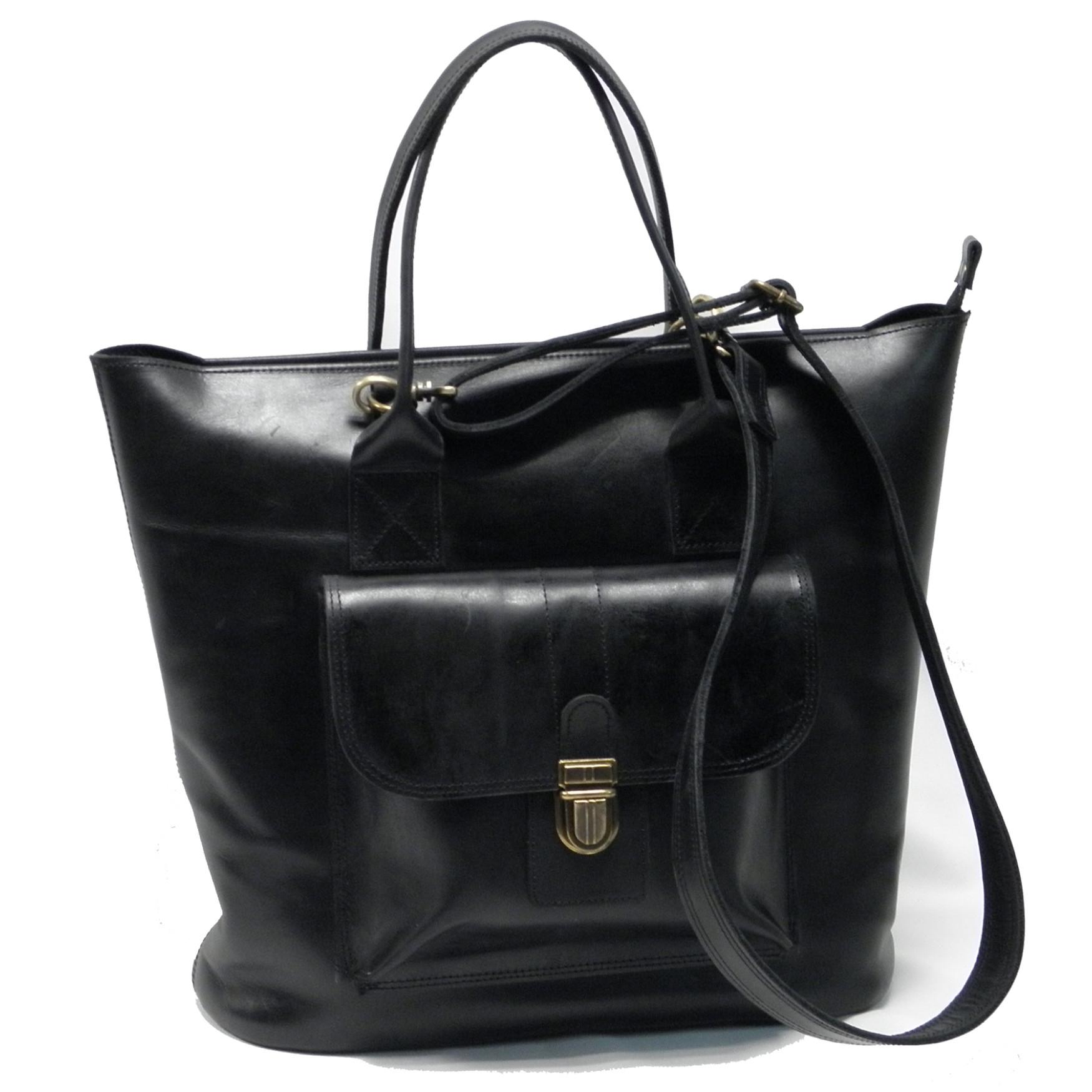 Стильная объемная сумка