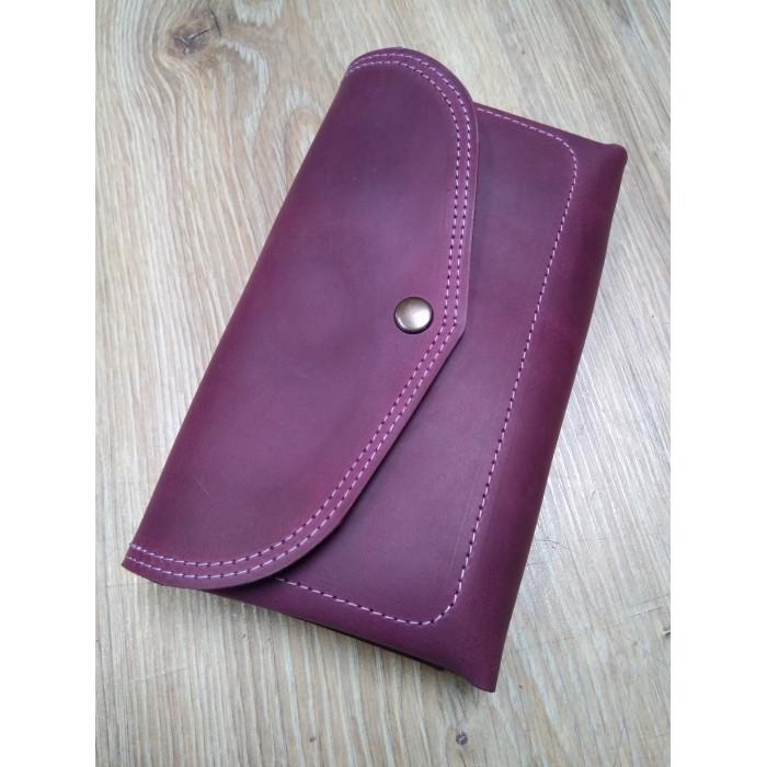 Вместительный кошелёк-клатч