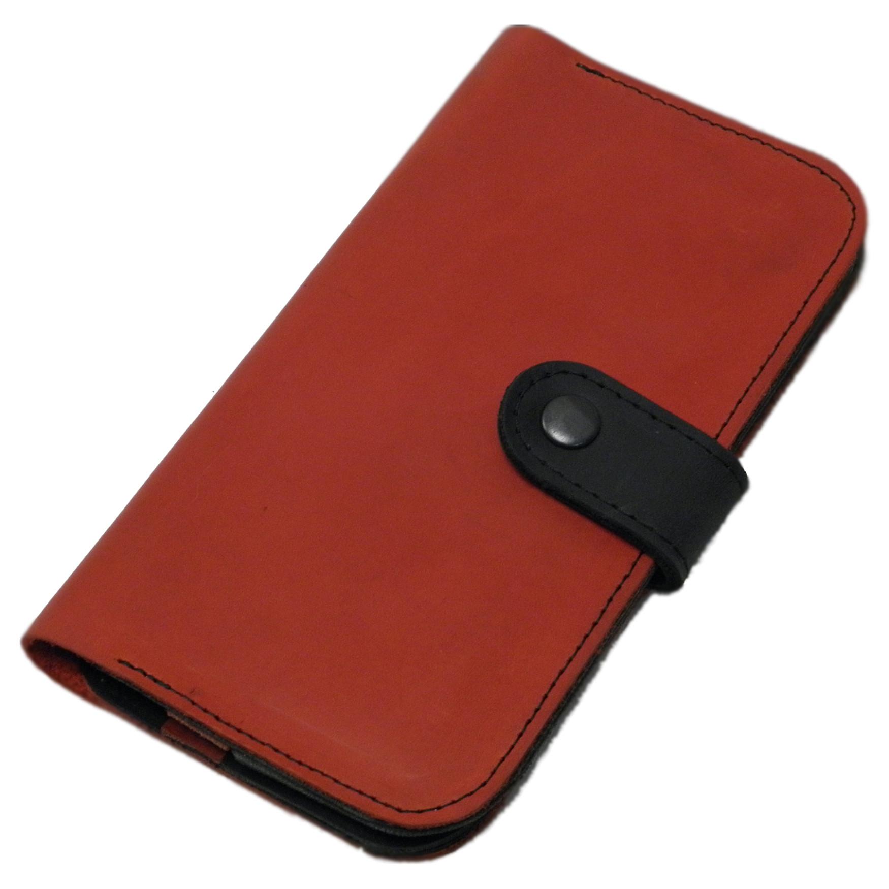 Чёрно-красный кошелёк