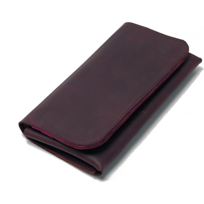 Бордово-розовый кошелёк