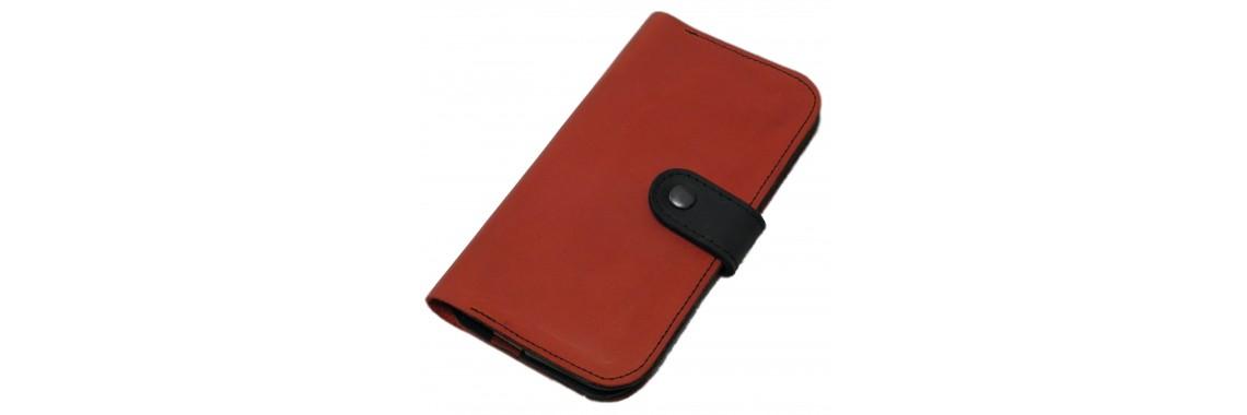 Комбинированный Чёрно-красный кошелёк